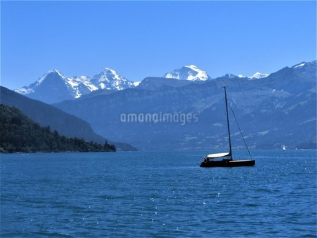 スイス、トゥーン湖の写真素材 [FYI04586727]
