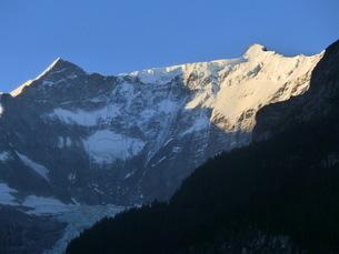 スイス、グリンデルワルト、フィッシャーホルンの写真素材 [FYI04586761]