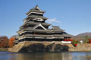 11月 国宝松本城の写真素材 [FYI04586892]