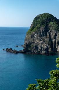 北海道夏の風景 積丹半島の海岸の写真素材 [FYI04587059]