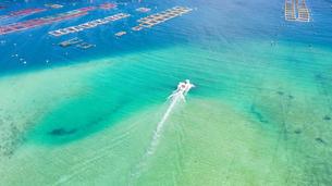 高知県 柏島 ドローン空撮の写真素材 [FYI04587200]