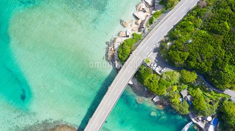高知県 柏島 ドローン空撮の写真素材 [FYI04587203]