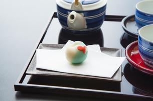 和菓子の写真素材 [FYI04587703]