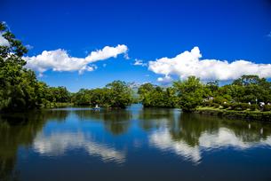 大沼国定公園 大沼の写真素材 [FYI04587799]