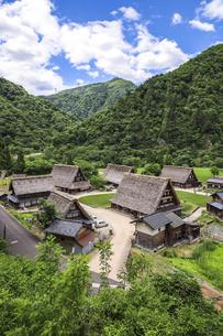 五箇山菅沼集落の写真素材 [FYI04587966]