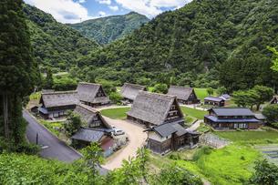 五箇山菅沼集落の写真素材 [FYI04587968]