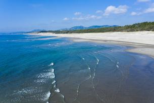 日本三大砂丘 吹上浜の写真素材 [FYI04588773]