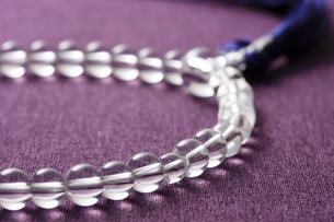 数珠の写真素材 [FYI04589103]