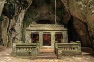 マーブルマウンテン(五行山)タンチョン洞窟 ベトナム ダナンの写真素材 [FYI04590349]