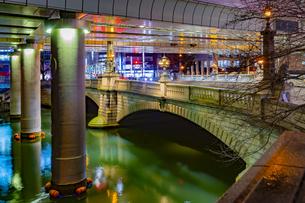 東京都中央区 雨上がりの日本橋の写真素材 [FYI04590520]