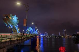 ドラゴンブリッジ(ロン橋) ベトナム ダナンの写真素材 [FYI04591390]