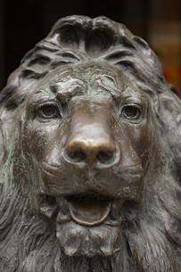 東京都中央区 銀座三越のライオンの写真素材 [FYI04591539]