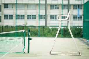 テニスの審判台の写真素材 [FYI04592166]