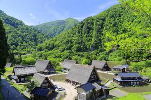 五箇山 菅沼合掌造り集落の写真素材 [FYI04592412]