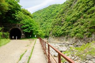 関西の風景 JR 福知山線廃線敷の写真素材 [FYI04592807]