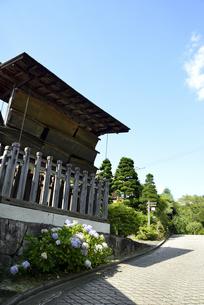 妻籠宿高札場の写真素材 [FYI04593219]
