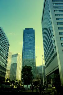 大阪駅中央南口の超高層ビル群の写真素材 [FYI04594389]