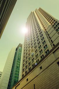 大阪梅田の超高層ビルの写真素材 [FYI04594638]