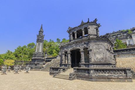 カイディン帝廟 ベトナム フエの写真素材 [FYI04594879]