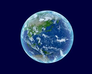 地球の写真素材 [FYI04595257]