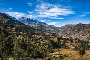 ボリビア・レアル山群の秘境・ソラタ村の写真素材 [FYI04595342]