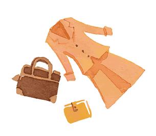 ビジネスファッション 女性のイラスト素材 [FYI04595939]