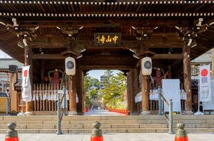 関西の神社仏閣 中山寺の写真素材 [FYI04596040]