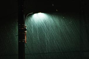 大雨の夜の写真素材 [FYI04596537]