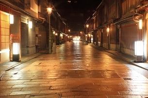 金沢 ひがし茶屋街の写真素材 [FYI04596822]