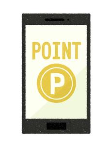 スマートフォン-ポイントの写真素材 [FYI04596885]