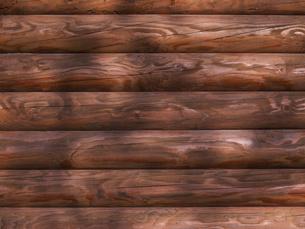 ログハウスの壁の写真素材 [FYI04597146]