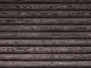 ログハウスの壁の写真素材 [FYI04597147]