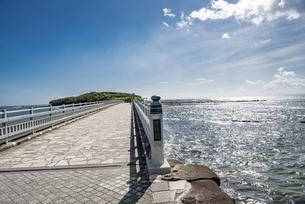 宮崎県 青島 弥生橋の写真素材 [FYI04597636]