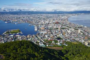 函館山からの眺望の写真素材 [FYI04597881]