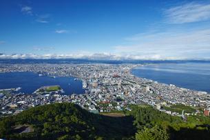 函館山からの眺望の写真素材 [FYI04597882]