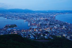 函館山からの夜景の写真素材 [FYI04597883]