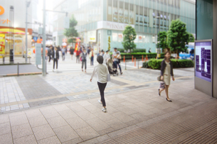 街 ショッピング街の写真素材 [FYI04598487]