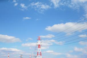 送電鉄塔の写真素材 [FYI04598516]