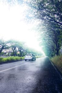 車 雨の写真素材 [FYI04598531]