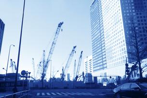 ビル建設の写真素材 [FYI04598545]
