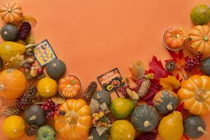 ハロウィンの飾り付けの写真素材 [FYI04598644]
