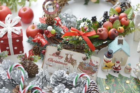クリスマス飾りの写真素材 [FYI04598653]