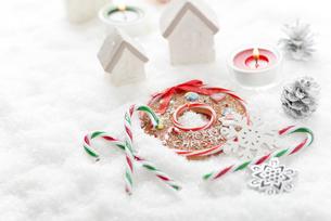 クリスマス飾りの写真素材 [FYI04598657]