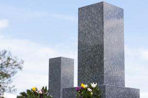墓石の写真素材 [FYI04598725]