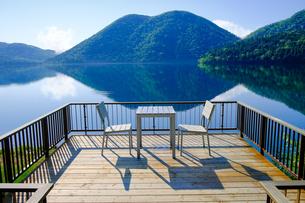 然別湖の写真素材 [FYI04598902]