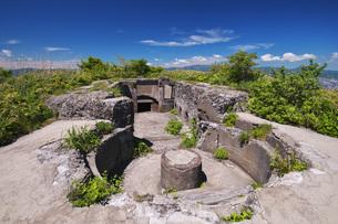 函館山の千畳敷要塞跡地の写真素材 [FYI04599171]