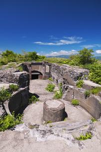函館山の千畳敷要塞跡地の写真素材 [FYI04599173]
