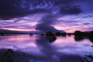 大沼の朝の写真素材 [FYI04599174]
