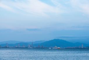 百道浜遠望の写真素材 [FYI04599562]