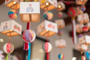 柳川の雛祭の飾り さげもんの写真の写真素材 [FYI04599566]